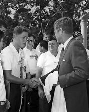 1963 35th President JOHN F KENNEDY JFK Glossy 8x10 Photo Bill Clinton Poster