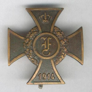 GERMANY, Anhalt. Friedrich Cross I class (Friedrich-Kreuz I. Klasse) 1914-18
