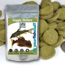YFS Spirulina Veggie Algae Wafers Pleco Catfish Tropical Bulk Fish Food Two LBS