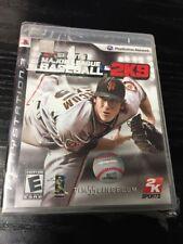 Major League Baseball 2K9 (Sony PlayStation 3, 2009)
