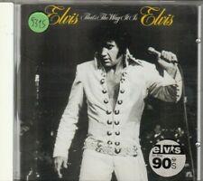 ELVIS PRESLEY - that's the way it is CD