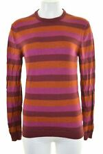 JACK WILLS Womens Jumper Sweater Size 12 Medium Multicoloured Striped  JC19