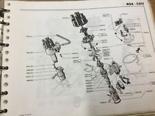 Peugeot 404 coupe cabriolet  ducellier  points 592719  590146 m50 Injection