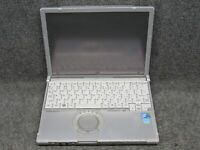 "Panasonic CF-T8 12.1"" Laptop w/ Intel Core 2 Duo 1.60GHz 4GB RAM 320GB HDD No OS"