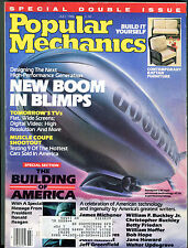 Popular Mechanics Magazine July 1986 New Boom In Blimps EX 032816jhe