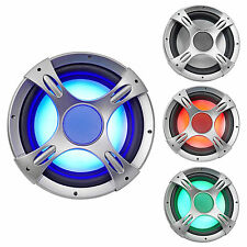 "NYC Acoustics NC12S4 1600 Watt 12"" 4 Ohm Car Audio Subwoofer with LED Sub Grille"