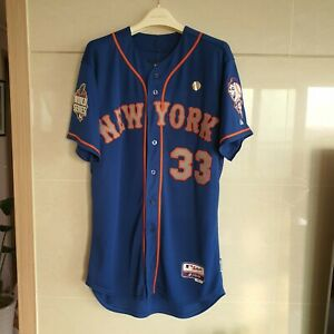 New York Mets 2015 World Series Matt Harvey authentic jersey