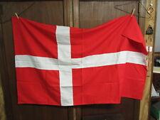 Denmark Cloth Flag  approx. 5 by 3 feet       AA