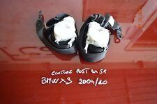 CINTURE SICUREZZA ANTERIORE DX BMW X3 2004.10