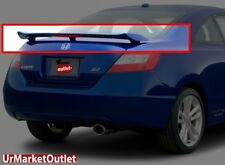 ABS Unpaint OE Style Rear Spoiler Wing+Brake Light for Honda 06-11 Civic Si 2 Dr