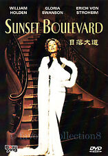 Sunset Boulevard (1950) - William Holden, Gloria Swanson - DVD NEW