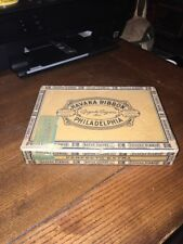 VINTAGE PENNSYLVANIA CIGAR BOX - HAVANA RIBBON PERFECTO EXTRA