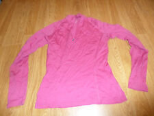 ICEBREAKER BODYFIT ZIP NECK MERINO SHIRT WOMEN'S SMALL