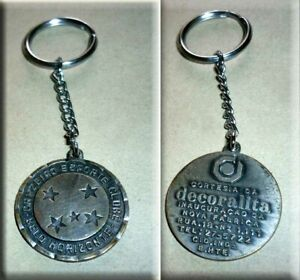 CRUZEIRO - BRAZIL - Original Old key chain 1980's