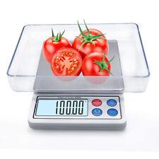 High Precision Digital Kitchen Scale, Mini Gram Jewelry Food Scale 600g/0.01g