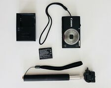 Canon PowerShot A2300 16.0MP Digital Camera - Black (w Selfie Stick & Battery)