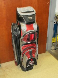 Michelob Ultra Amber Golf Bag w/ Beer Cooler Pocket & Shoulder Strap