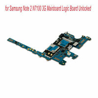 Motherboard for Samsung Note 2 N7100 3G Mainboard Logic Board Unlocked Parts YUE