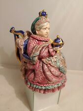 Fitz & Floyd L.E 973/1750 Teapot Queen Victoria Important Women Collector Series