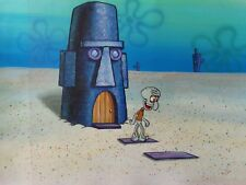 Nickelodeon TV SpongeBob Museum Animation Art Background Cel Set Up #U10