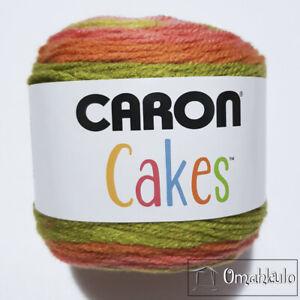 CARON CAKES - 200g Premium Soft Yarn - STRAWBERRY KIWI