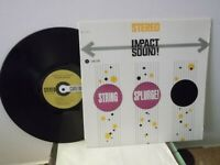 """Impact Sound!,String Splurge!"",Carlton 12/140,US,LP,stereo,audiophile sound,M"