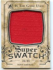 2016 LEAF IN THE GAME-USED SUPER SWATCH JERSEY #SS-41 TONY AMONTE 36/45 *32777