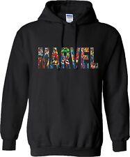 Marvel Hoodie Captain America Ironman Stan Lee Avengers Hood Gift Mens Hoody