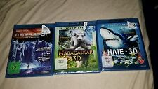 Blu Ray 3D- Filme  Sammlung -NEU & OVP!!!Doku