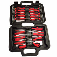 58 MECHANICS SCREWDRIVER & BIT TOOL KIT SET PRECISION PHILLIPS TORX POZI SLOTTED