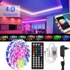 LED Stripe 5m RGB 5050 Streifen Bluetooth Farbwechsel Sync Musik LED Lichtband