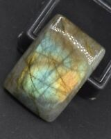 C-2212 Labradorite Natural Gemstone Rectangle Cushion Cabochon 49Ct 8x19x28mm