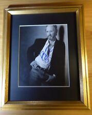 David Carradine Kung Fu Kill Bill Signed Autographed w Coa