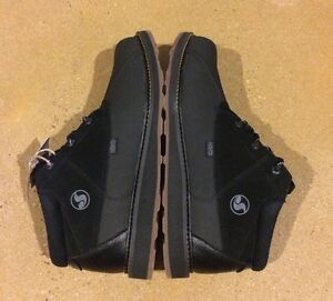 DVS Hawthorne Boots Mens Size 12 Black Gum Nubuck BMX DC MOTO $100 Box Price