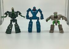 Rock Lords Action Figure 3 Lot Transformer 1985 Bandai GoBots Stoneheart Marbles
