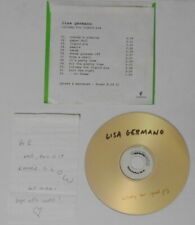 Lisa Germano - Lullaby For Liquid Pig - U.S. promo cd with autograph
