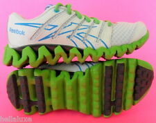 NEW~Reebok ZIG TECH SHARK Running Trainers Casual Shoes school gym~YOUTHS size 1