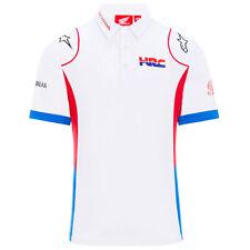 2020 Honda HRC Replica Team MotoGP Mens Polo Shirt White Official Sizes S-XXL