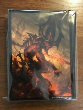 Warhammer Card Sleeves x100 Chaos Daemons - Fantasy Flight (Out of Print)