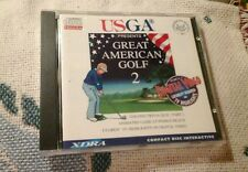 GREAT AMERICAN GOLF 2 VIDEO GAME PHILLIPS CD-I COMPLETE