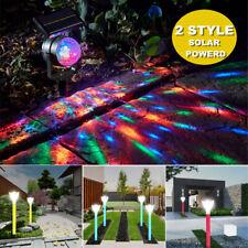 2 Styles Solar Power Garden s Outdoor Landscape Path Yard Projector  US