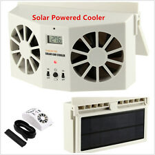 Car Solar Powered Auto Window Air Vent Ventilator Mini Air Conditioner Cool Fan