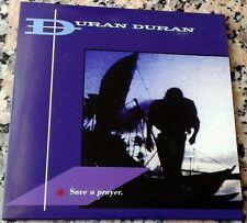 """DURAN DURAN RARE NEW CD Single 7"""" SAVE A PRAYER Hold Back The Rain 12"""" Remix"""