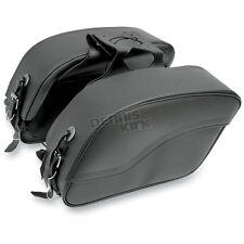 All American Rider Plain Extra-Large Futura 2000 Slant Saddlebags - 8800P