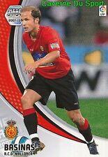 N°172 MARIO SUAREZ MATA # RCD.MALLORCA CARD PANINI MEGACRACKS LIGA 2010