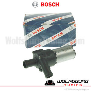 Audi VW Auxiliary Secondary Electric Water Pump A6 TT 1.8T 2.7T GTI Jetta 00- 06