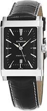 Eterna 8491.41.41.1117D Eterna-Matic Women's Swiss Automatic Black Leather Watch