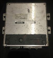 ROVER 25 45 MG ZR ZS 1.4 ENGINE ECU NNN100752 NNW004130 4D7 40601 GENUINE (3030)