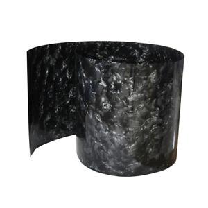 "16"" x 60"" Drum Wrap 0.5mm Musical Instrument Deco Sheet Diamond Black"