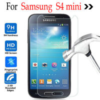 Genuine Tempered Glass Screen Protector For Samsung Galaxy S4 Mini I9190 I9195I
